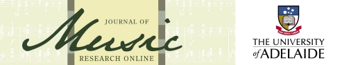 The Journal of Music Research Online